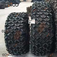 10-24 Wheel Loader Rubber Tire / Tyre Protection Chain Mini Loader Protection Chain Manufactures