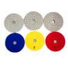 Buy cheap 3 Step Polishing Pads Granite Stone / Wet Diamond Polishing Pads 3mm Thickness from wholesalers