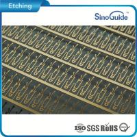 Custmerized Stainless Steel Etching Lead Frame Steel Etched Gold Plating Manufactures