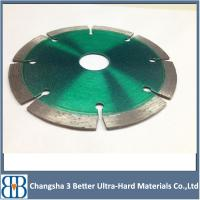 China Cold Pressed Sintered diamond saw blade for cutting marble,granite and concrete on sale