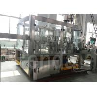 PET Bottle Packaged Drinking Water Bottle Filling Machine / Line Automatic 3-IN-1 Manufactures