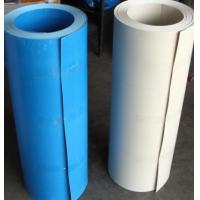 China Weather Resistance PVC Flat Sheet Anti leaking Fire Resistance Plastic Roof Sheet on sale
