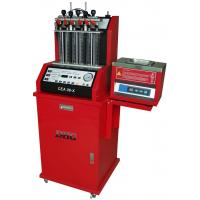 Auto Diagnostic Fuel Injector Cleaning Machine , 6 Cylinders 220V Manufactures