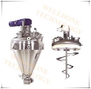 Citric Acid Conical Vacuum Dryer Batch - 3000Kgs Loading Capacity 50 / 60HZ Manufactures