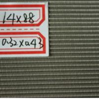 304 & 316 Stainless Steel Dutch Weave Wire Mesh for Pharmaceutical Manufactures