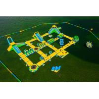 Giant Inflatable Water Park Games / Harrison Exciting Aqua Park Equipment For for sale