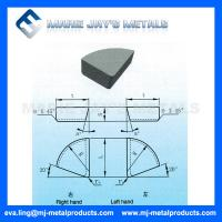 Type A208 A210 A212 Tungsten Carbide Brazed Tips Manufactures