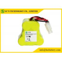 China 9.6 Volt Rechargeable Battery Pack 3000 Mah NIMH Battery Customized Color on sale