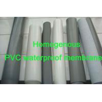 China PVC waterproofing membranes from Qingdao on sale