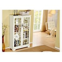 Bookcase With Glass Doors , Trustic All White Bookcase Cabinet Manufactures