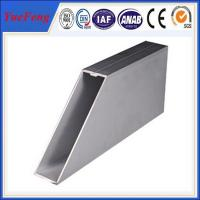 Durable aluminum curtain wall profile/curtin wall aluminium profile Manufactures