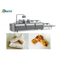 Energy Cereal Bar Molding Bar Forming Machine Different Sizes And Shapes Manufactures