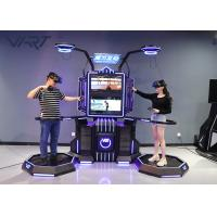 Coin Operated Digital Entertainment VR Standing Platform For Game Center Manufactures