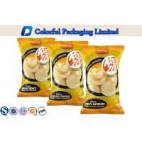 Heat Sealing Vacuum Aluminum Foil Potato Chips Packaging Bag with Tear Notch Manufactures