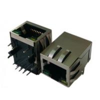 OEM Shielded RJ45 Magnetic Jack SMT PCB Modular Connector For Cat5e / Cat6 Cable Manufactures