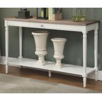 Long Narrow Wood Console Table For Entry / Living Room / Bedroom Manufactures