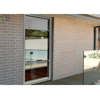 Aluminium Alloy Double Hung Vertical Sliding Windows With Single/Double Glazing Manufactures