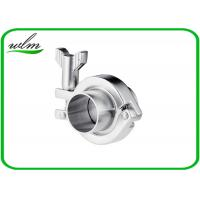 Stainless Steel Sanitary Tri Clamp Fittings Short Type For Food Industries Manufactures