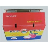 China recycle feature corrugated fruit box for packing wholesale