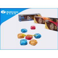 Colorful Printing Personalized Chocolate Foil Wrappers Coloured Foil For Wrapping Chocolates Manufactures