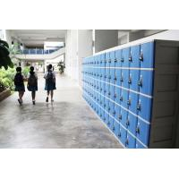 China ABS Material Keyless Plastic School Lockers 4 Comparts 1 Column Safety / Ventilation on sale