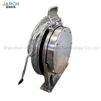 Oil Tank Floating Coil Hose Reel Disk Placing Static Electricity / Lightning Protection Manufactures