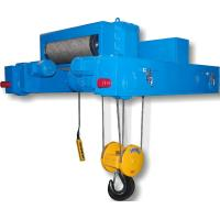Dual Rail Wire Rope Hoist Trolley For Double Girder Overhead Crane Manufactures