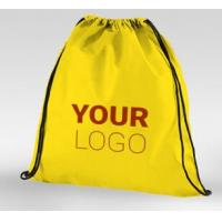 China Tote shopping bag supplier recyclable pp laminated non woven bag, Promotional ultrasonic Golden non woven laminated shop on sale