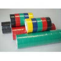 Quality Colorful PVC Electrical Tape / Rubber Electrical Tape ISO SGS ROHS Certificate for sale