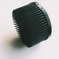 Buy cheap Anodize Finished Pin Fin Heat Sink With Black Body Color D140mm * H70mm Size from wholesalers