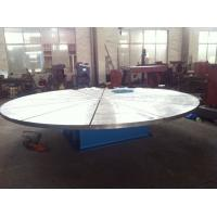 China Custom Auto Pipe Welding Positioner with 5000mm Diameter Table For Electric Power on sale