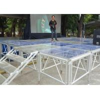 Aluminum Alloy Portable Outdoor Stage Platforms 18 M Thickness SGS Approved Manufactures