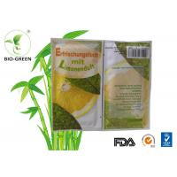 China Square Organic Bamboo Wet Wipes With Double Terry Layer Customized Color Available on sale