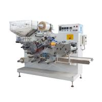 I Shape Drinking Straw Packing Machine For Drinking Water , Soft Drinks Manufactures