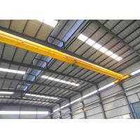 EOT Single Beam Overhead Crane Remote Control Electric Hoist 270mm 370mm Wheel Manufactures