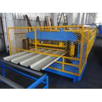 China Trapezoidal Profile Metal Roofing Roll Forming Machine to Portuguesa on sale