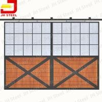 Quality Low Price High Quality Oil Carbonized Bamboo Horse Stables Stall for sale