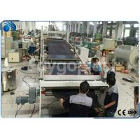 Automatic PVC Board / Plastic Sheet Making Machine Extrusion Line High Precision Manufactures