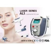 Quality Skin Rejuvenation / Skin Cleansing Q Switch Laser Tattoo Removal Machine 22kg for sale