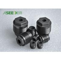 External Hexagon Tungsten Carbide Thread Nozzle High Precision For Oil Field Industry Manufactures