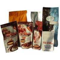 PET Zip-Lock Plastic Coffee Bags with Bottom Gusset Manufactures