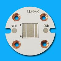 1 - 4 Layer Round High Power LED Electronic PCB Boards with Lead Free HASL Finishing Manufactures