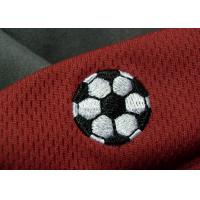 Tatami Material Clothing Brand Embossed Patch For Soccer Team Manufactures