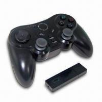 Wireless Controller for PS3, Ergonomically Designed and Four Controller Port Indicator LEDs Manufactures