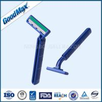 Custom Logo Twin Blade Disposable Medical Razor With Lubricant Strip Manufactures