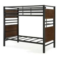 Comfortable Double Bunk Beds Bedroom Furniture Fire Wood Motherboard , Bunk Bed , Bed Manufactures