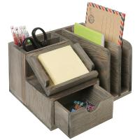 Student Neat Wood Desk Organizer Accessories Mdf Multi Functional Manufactures