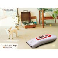 Professional Cat / Dog Pet Hair Clippers , Ni-CD Battery Electric Hair Clipper Manufactures