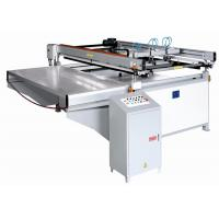 China Large Size Semi Automatic Printing Machine Four Post Lift Table Structure on sale