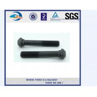 Quality ZhongYue railway DIN 933 oval head bolts screw rail bolts with competitive price for sale
